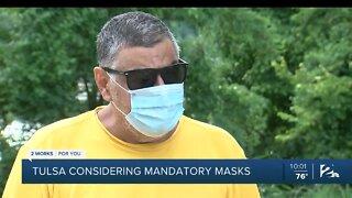 Tulsa considering mandatory masks