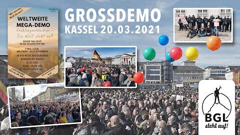 GROSSDEMO KASSEL Frühlingserwachen - Die Welt steht auf 20.03.2021