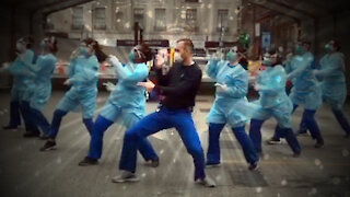 Dancing Nurses Return To Tik Tok Amid Fake Pandemic