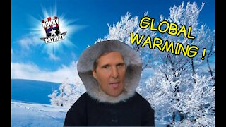 JOHN KERRY BLAMES FRIGID TEMPS ON GLOBAL WARMING !