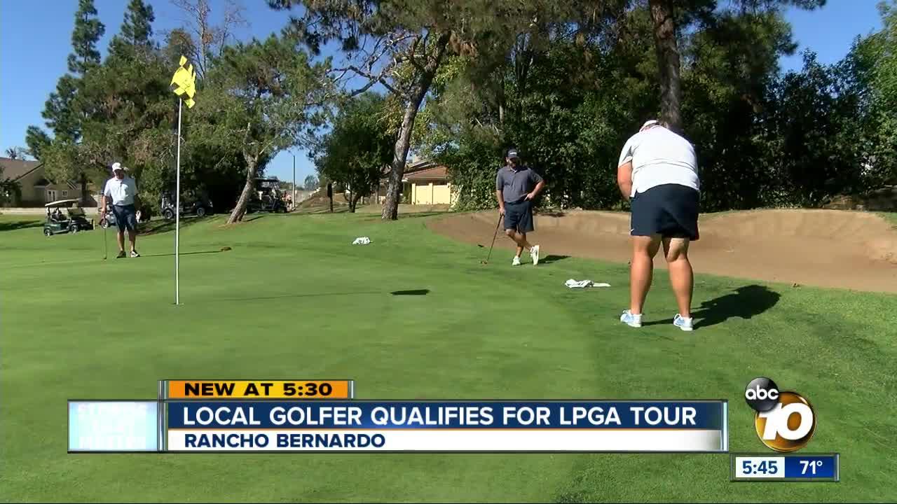 Local golfer makes LPGA