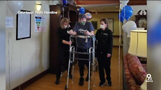 After 297 days hospitalized with COVID, Ft. Thomas man returns home
