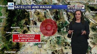 Earthquake felt in Las Vegas