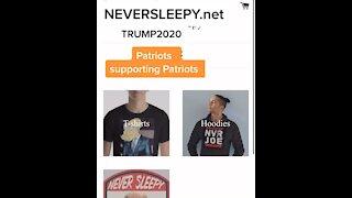 Never sleepy