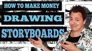 How I made $223,000 in 2019 Drawing Commercial Storyboards!
