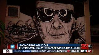 New mural celebrates legacy of Merle Haggard