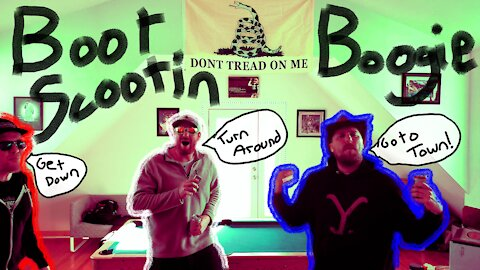 """""""Boot Scootin' Boogie"""" By: Steak Horns COVER"""