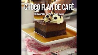 Chocolate Coffee Flan