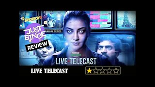 Live Telecast Review   Kajal Aggarwal   Just Binge Review   SpotboyE