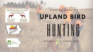 Iowa Outdoor Adventures - Linn County Pheasants Forever Pheasant Hunt