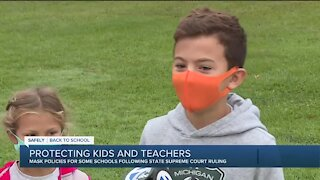 Mask policies for some schools following state Supreme Court ruling