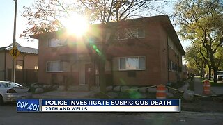 Police investigating death near 29th and Wells