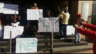 SOUTH AFRICA - Pretoria - Department of Health Workers Picketing (videos) (mUM)