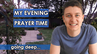 My Evening Prayer Time Before Sleep | How I pray to God at night | Christian Video