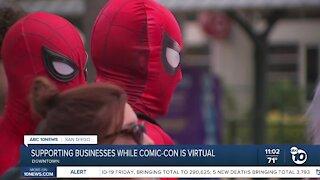 Comic-Con virtual, helping local businesses
