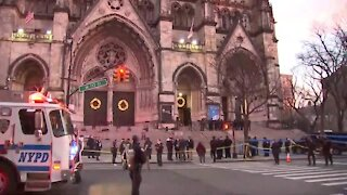 Man shot by police after shooting at Manhattan cathedral