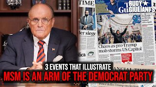 3 Events That Illustrate The MSM Is An Arm Of The Democrat Party | Rudy Giuliani | Ep. 167