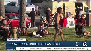 City compliance team heads to Ocean Beach