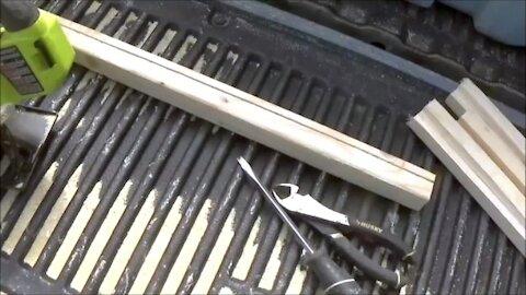 Spray Paint .308 Raccoon Deterrents & Heavy Duty Stairs