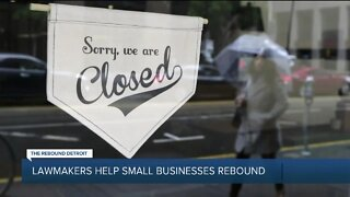 Lawmakers help small business rebound