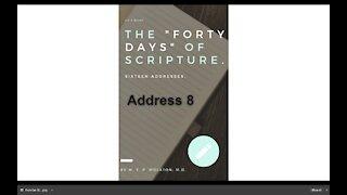 Chapter 8 Ezekiel's Forty Days