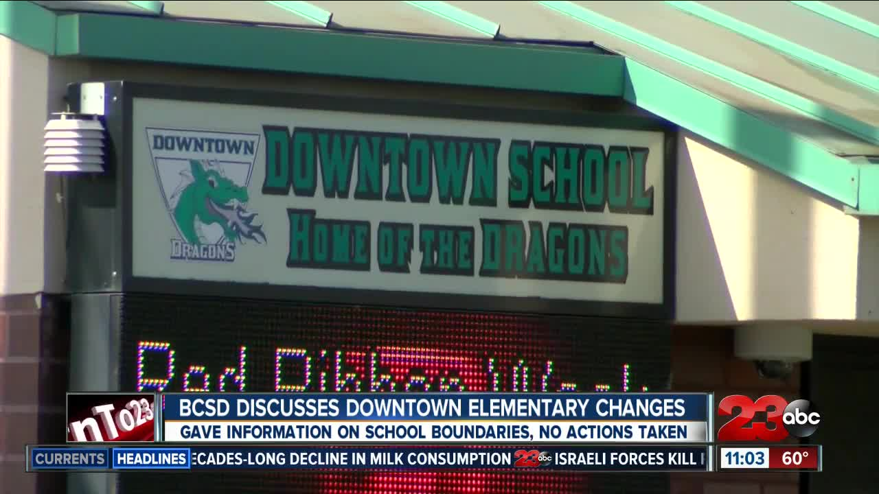 Possible changes coming to Downtown Elementary School