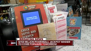 $768 million Powerball jackpot winner set to claim prize Tuesday