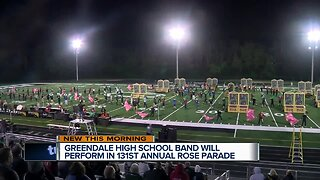 Tournament of Roses Parade comes into focus for Greendale High School band