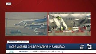 More migrant children arrive in San Diego