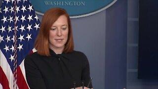 The White House Jan 29 2021 -- Press Secretary Jen Psaki Holds Press Briefing
