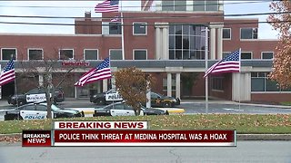 Medina police believe potential active shooter situation at hospital was a hoax