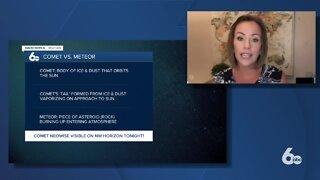 Comet vs Meteor: Rachel Garceau explains the difference