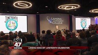 Juneteenth celebration begins at Lansing Community College
