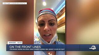 Colorado nurse shares her experience from New Jersey ICU