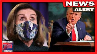 WOW! Nancy Pelosi Does UNTHINKABLEAhead of Trump Impeachment Sequel