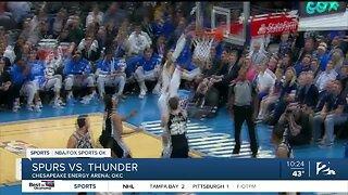 OKC Thunder fall to San Antonio Spurs, 114-106
