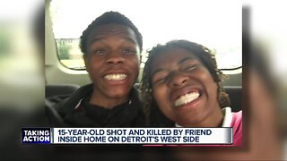 15-year-old shot and killed by friend inside home on Detroit's west side