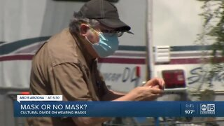 Mask or no mask? Cultural divide on wearing masks
