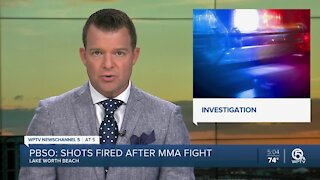 Shots fired after MMA fight in Lake Worth Beach