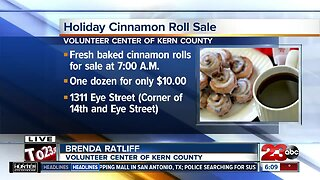 Holiday Cinnamon Roll Sale to benefit local veterans