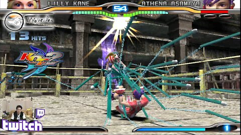 (PS2) KOF Maximum Impact 2 - 22 - Lilly Kane - Lv Gamer