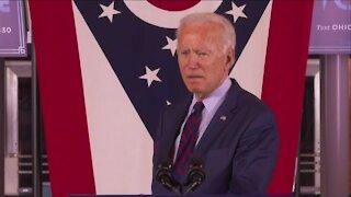 Joe Biden delivers remarks in Cincinnati