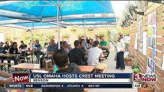 USL Omaha hosts crest meeting