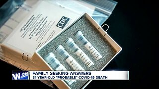 """Family seeks answers after son's """"probable"""" COVID-19 death"""