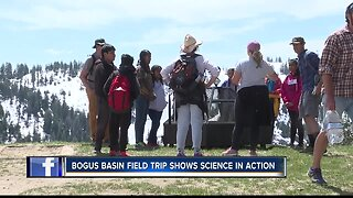 6th graders learn science curriculum at Bogus Basin