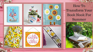 Teelie Turner Author | How To Transform Your Book Nook For Summer | Teelie Turner