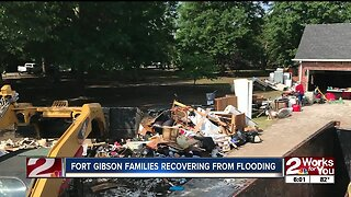 Fort Gibson families recovering from flooding