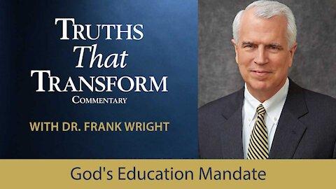 God's Education Mandate