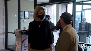 Mayor Stothert files re-election petitions, vying for 3rd term as mayor
