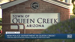 Queen Creek contemplating creating its own police department
